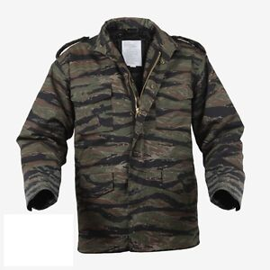 Rothco 8713 Tiger Stripe Camo M-65 Field Jacket