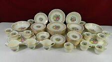 Homer Laughlin HLC367 Liberty Colonial Theme Filigree Dinnerware Set 81 Pieces