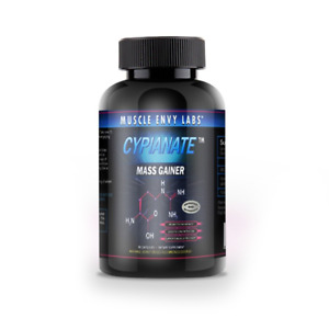 CYPIANATE PRE WORKOUT MASS GAINER CAPSULES WITH NITRIC OXIDE LIKE PRE JYM