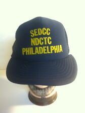 3f7fa524280 SEDCC NDCTC PHILADELPHIA Adjustable Mesh Baseball Hat Cap Snapback