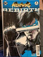 Nightwing Rebirth # 1 DC Comics- NM, 2016
