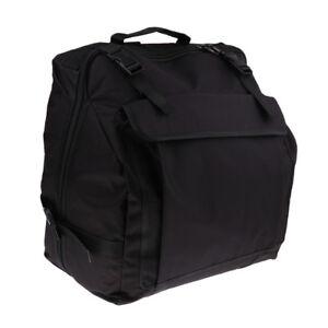 Padded Accordion Backpack Gig Bag Big Storage for 120 Bass Accordion