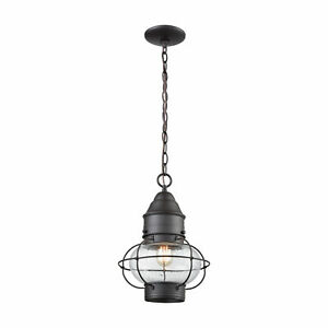 Onion 1 Outdoor Pendant Oil Rubbed Bronze