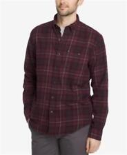 G.h. Bass & Co. Fireside Plaid Flannel Shirt Red Mens Large New