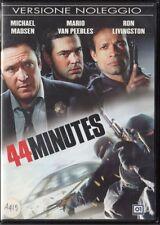 44 MINUTES (2005) - DVD EX NOLEGGIO