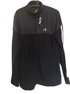 Under Armour UA Mens Full Zip Sports Pique Jacket Track Top. Brand New XL