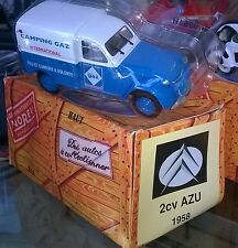 NOREV HACHETTE CITROEN 2CV AZU CAMPING GAZ 1958 New + shell + box