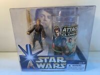 Star Wars Attack of the Clones Anakin Skywalker Plastic Cup and Figure Set 2004