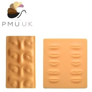 Permanent Makeup 3D PRACTICE SKIN - SPMU Microblading Training Skin Eyebrow Lip