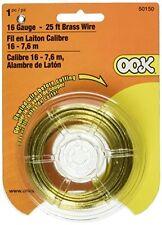 OOK 50150 16 Gauge Brass Hobby Wire