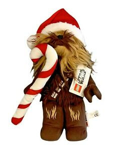 LEGO Star Wars Santa Chewbacca with Candy Cane Christmas 14 In Plush