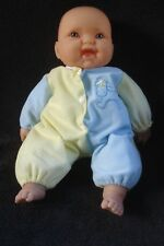 "Berenguer Baby Girl Doll with Outfit Jc Toys 14"" Cloth Body Vinyl Arms Legs Euc"