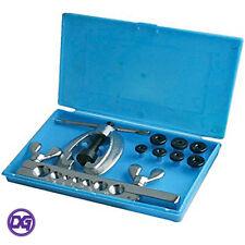9 piezas Kit de herramienta para ensanchar tubos Imperial Mecánica De Freno plomeros uso.