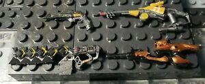 """Destiny Mega Construx Exotic Custom Weapons Pack Wave 1""  By Customakia"