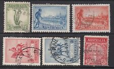 Australia ^1932-35 hinged & used collection $28.00@12aust122
