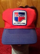 VINTAGE CARQUEST AUTO PARTS STORES SPORTS SPECIALTIES SNAPBACK TRUCKERS HAT GUC