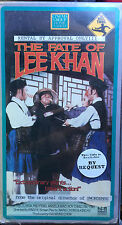 The Fate of Lee Khan (VHS) Rare 1973 martial arts classic stars Li Li-Hua
