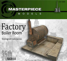 1/35th scale CD70089 Stalingrad boiler room factory ruins #2
