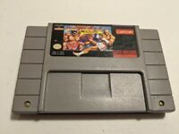 Super Street Fighter II 2 Turbo Nintendo SNES Game - Tested Working - Authentic