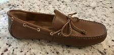 Alfani Men's Tanner Leather Drivers Shoes Tan-AMPUTEE LEFT SHOE ONLY-SIZE 7.5 M