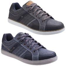 Zapatos informales de hombre Skechers de lona