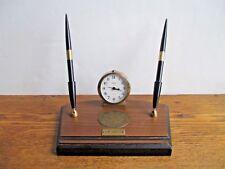 Das Awkscht Fescht First Prize Desk Pen + Clock Set Antique Cars Macungie, PA