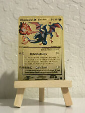 Pokemon Charizard Gold Dragon Frontiers Star Shining Metal Textured 100/101 Card