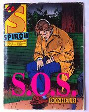 a)SPIROU N°2484; S.O.S. Bonheur