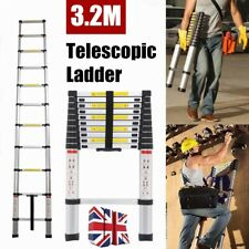 3.2M Aluminium Heavy Duty Multi-Purpose Telescopic Ladder Extension Extendable