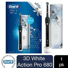 Oral-B Pro 680 3D Black-White Electric Toothbrush with Travel Case
