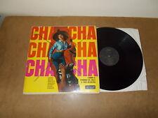 LP VINYL - CARMEN & FERNANDO DEL VALLE & ORCH - CHA CHA - ALLEGRO 734 - MONO UK