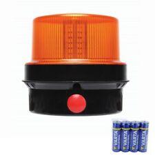 PORTABLE LED STROBE BEACON BATTERY POWERED MAGNETIC FLASHING AMB82