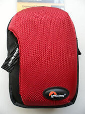 Lot Of 3 Lowepro Tahoe 10 Red Camera Mp3 Small Electronic Phone Pouch Cases Bags