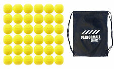 Martin Sports Lacrosse Balls (36-Balls) Yellow Ncaa/Nfhs/Sei/Nocsae Certified