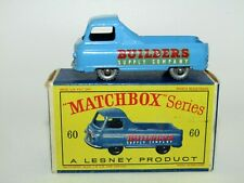 "Matchbox Regular Wheels No 60 Morris J2 Pick-Up Truck White SPW ""D"" Box NMIB"