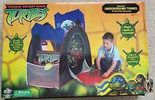 Teenage Mutant Ninja Turtles UNDERGROUND TUNNEL with EZ Twist Pop Open Toy TMNT
