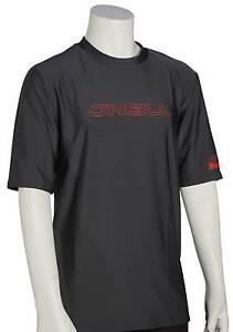 O'Neill Kid's Basic Skins SS Surf Shirt - Graphite - New