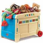 Step2 Lift & Roll Toy Box Kids Storage Chest