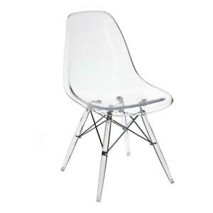 P016 Stuhl durchsichtig