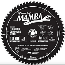 "10"" Spiral Tool Ma10060 Carbide Tipped Finishing Compound Miter Mamba"