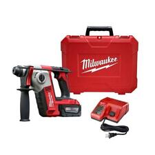 Milwaukee Rotary Hammer Drill 18-Volt Battery Brushless Cordless Charger Case