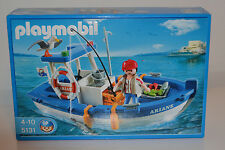 Playmobil 5131 -  Fishing Boat / Fischerboot / NEU / sealed