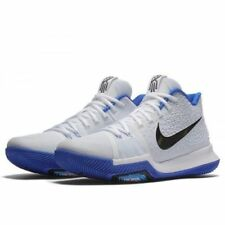 Nike Kyrie 3 Mens Basketball Shoes 14 White Black Hyper Cobalt