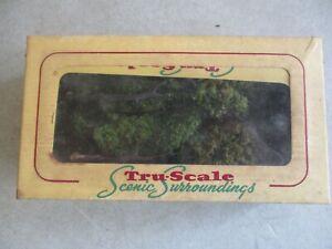 VINTAGE TRU-SCALE SCENIC SURROUNDINGS GREEN SHADE TREES NO. 201 IN ORIGINAL BOX