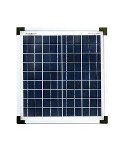 enjoysolar® Polykristallin 20Watt Solarmodul 12V Solarpanel Poly 20W Garten