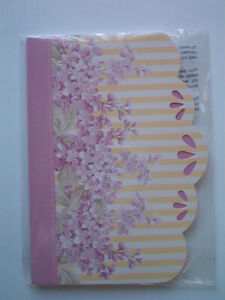"""Michaels 5"""" x 7"""" Journal Notebook, Liliac Blossoms, 80 Sheets"""