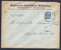 DANEMARK - OLD  LETTER   KJOBENHAVN TO KLODTERSTRADE