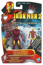 Iron Man Mark VI Hasbro Iron Man 2 Movie Series action figure marvel universe