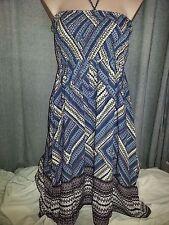 Women's Geometric Sundress Knee-Length Summer/Beach Dresses