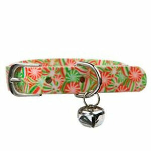 Top Paw Waterproof Christmas Candy Dog Buckled Collar - SALE BENEFITS RESCUE